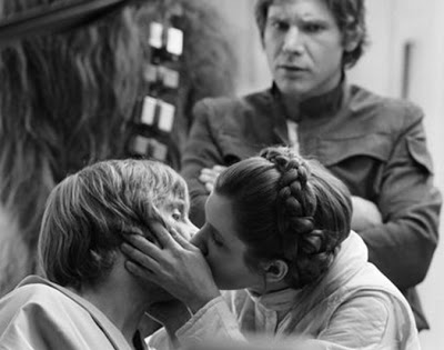 luke leia kiss