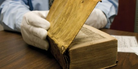 Harvard Discovers Books Bound in Skin